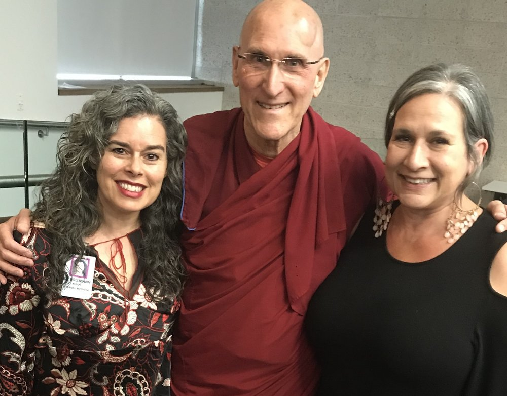 WITH BARRY KERZIN, MD, PHYSICIAN TO THE DALAI LAMA, AND THEA WHITE