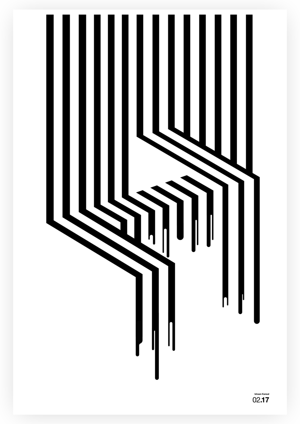 Letter Poster #1 - Letter Z