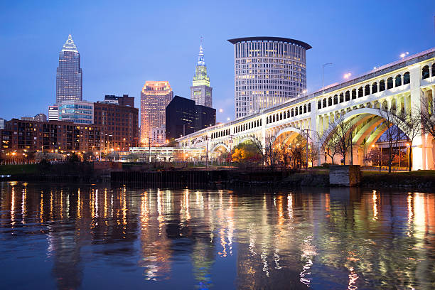 Cleveland, Ohio - host to the fencing March NAC 2019