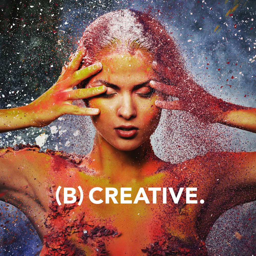 Vitamin B promotes healthy thoughts + creative acuity