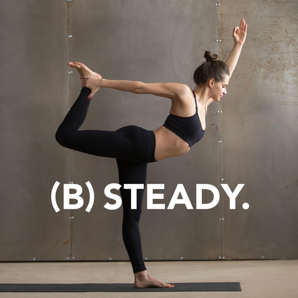 Vitamin B promotes steadiness.