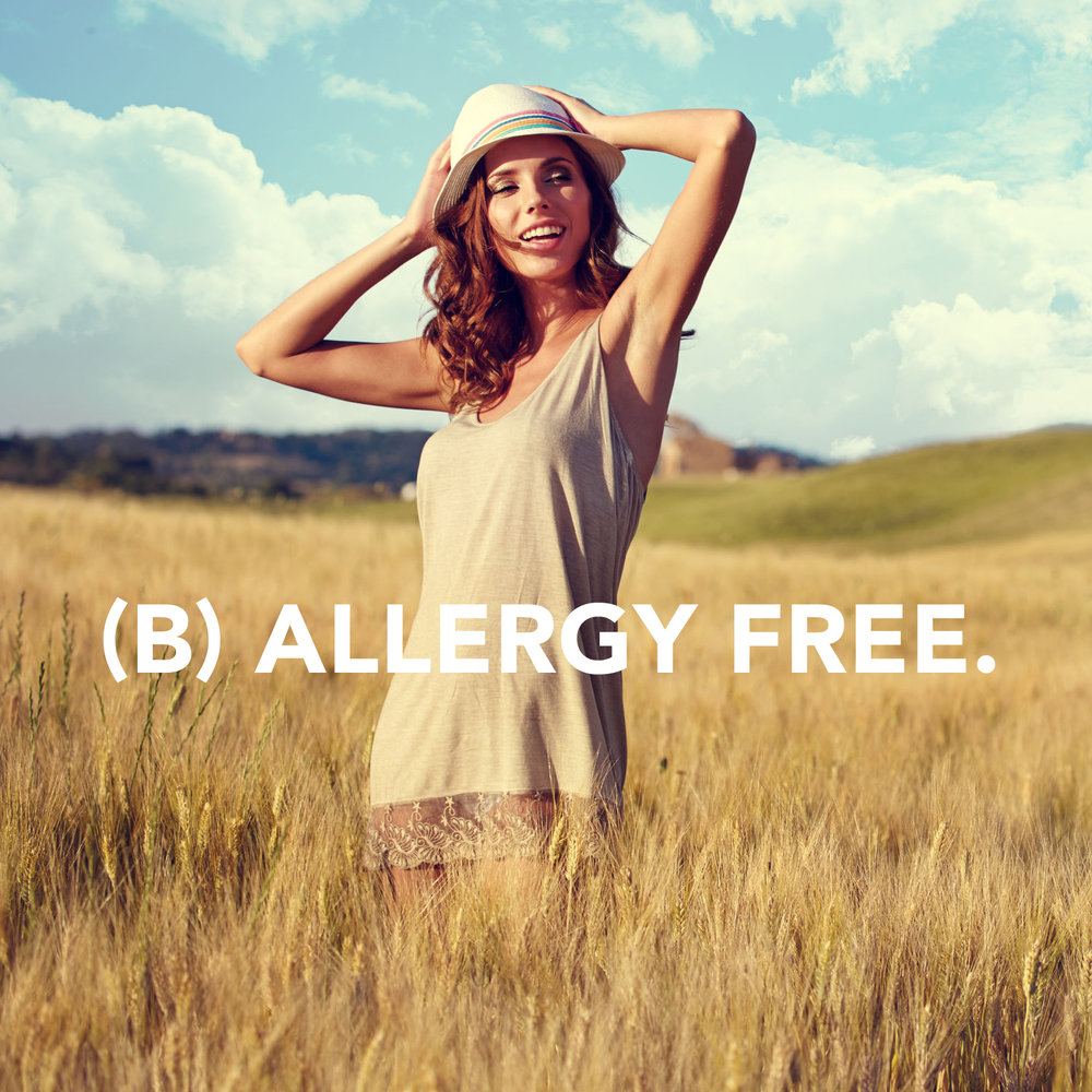 B vitamins + other nutrients offer relief from seasonal allergies.