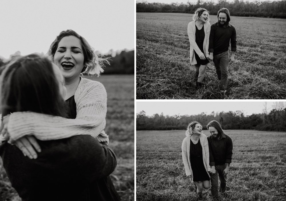 couples session at the five rivers metropark