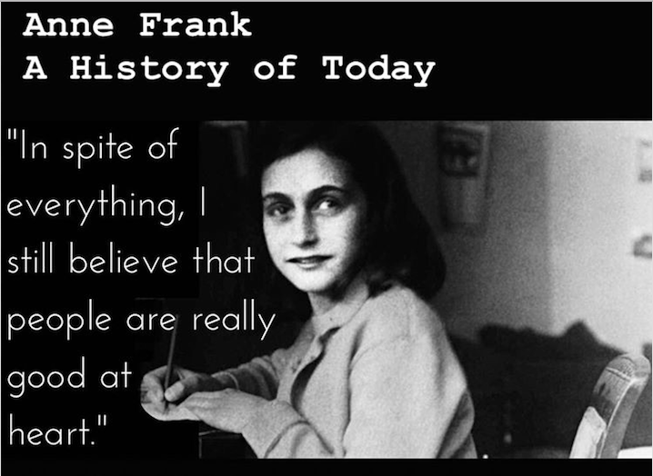 what did anne frank believe in