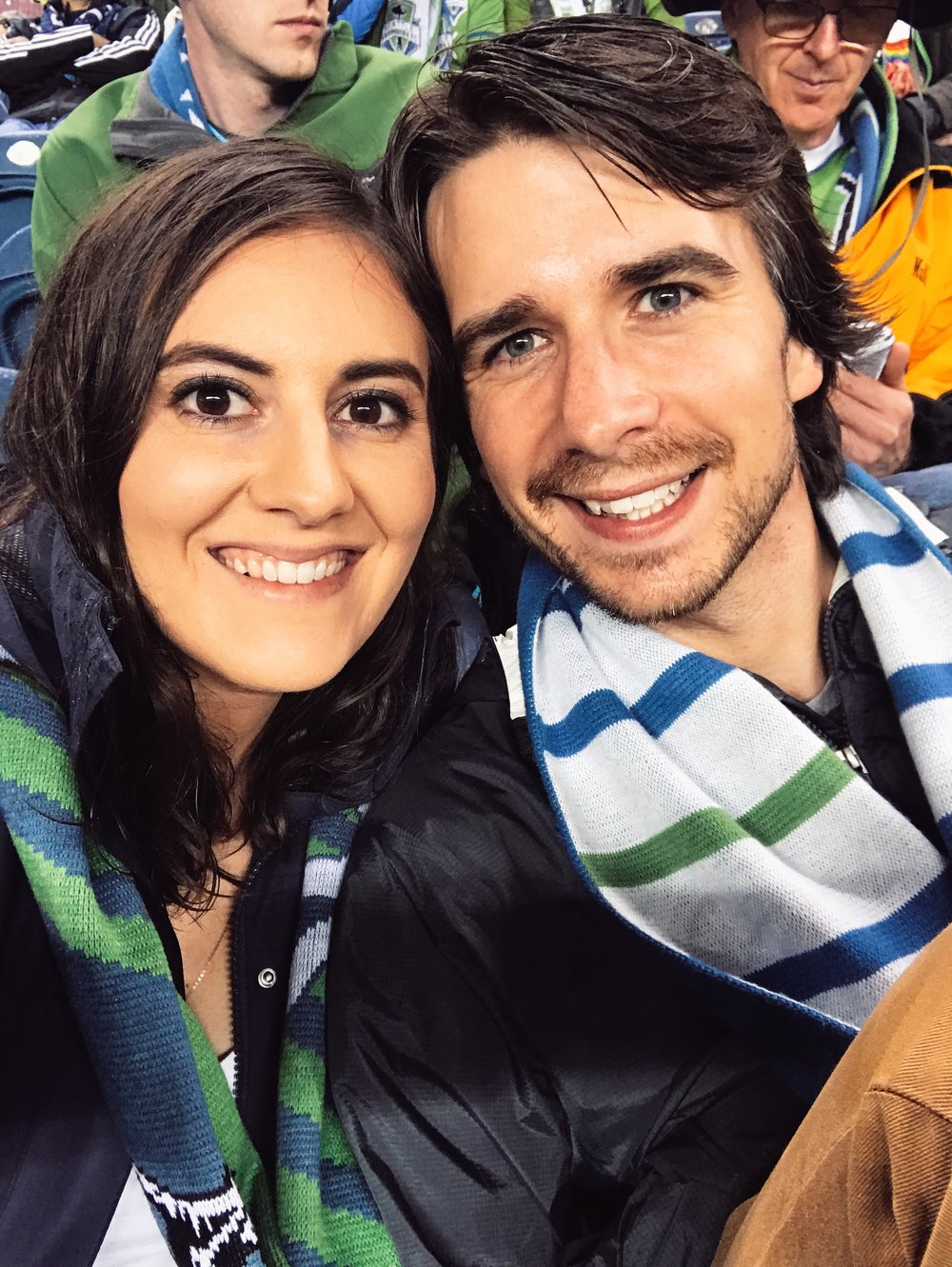 Sounders game against Houston dynamo