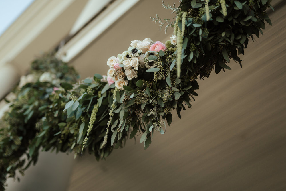 Floral Hanging Alter | Sojourn Art and Ink