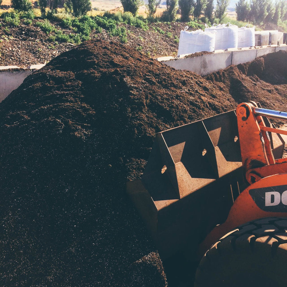 COMPOST & SOIL BLENDS - PERFECT FOR FARMS, GARDENS, AND LANDSCAPES