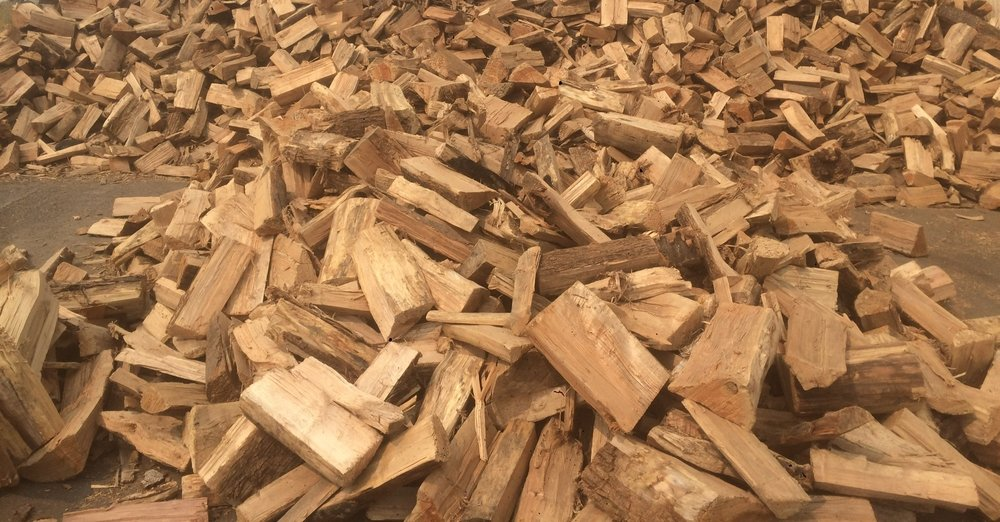 FIREWOOD - SALVAGED WOOD, AGED TO PERFECTION