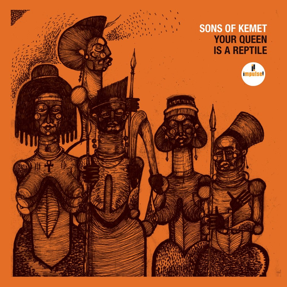 6. Your Queen Is A ReptileSons of Kemet - Man oh man, this album is a trip. It's intense, it's in your face, and it's a whole new take on jazz. The UK has given us a lot of good music this year, and Sons of Kemet are no exception. They are also the leading figures of a burgeoning jazz movement in London. If you haven't read up on that, check out this awesome feature by Kate Hutchinson for the New York Times. All in all, this politically charged opus is what the sound of modern jazz should be (not Kamasi Washington). Rating: 8/10Stream on Spotify.Stream on Apple Music.
