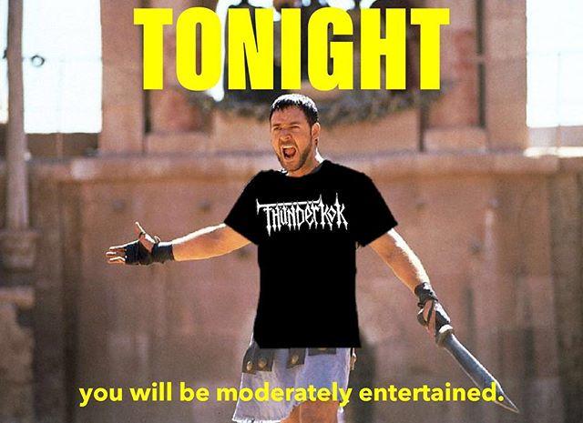 JUST KIDDING- let's get f**ked up on a Tuesday!!! Seeya later July. Doors at 7 @mavericksbar @psychostick @urizenonline @p.goblin