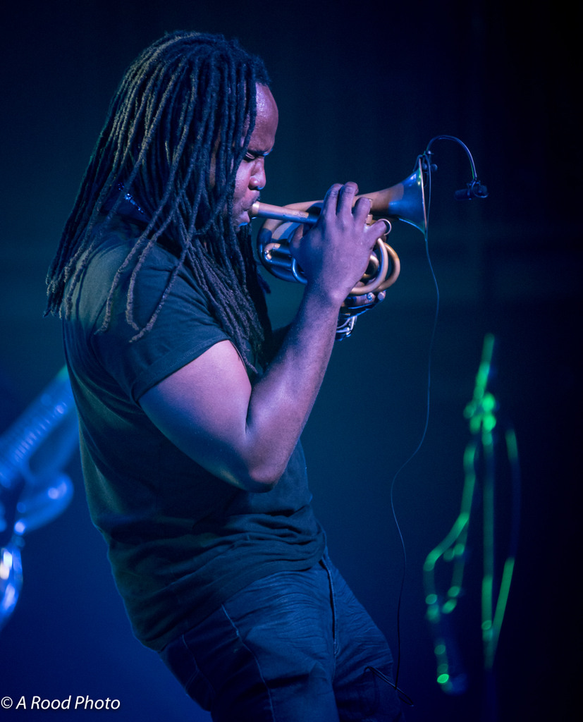 Shamarr Allen with Galactic