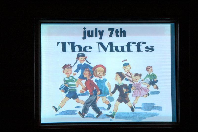 The Muffs 7-7-2005
