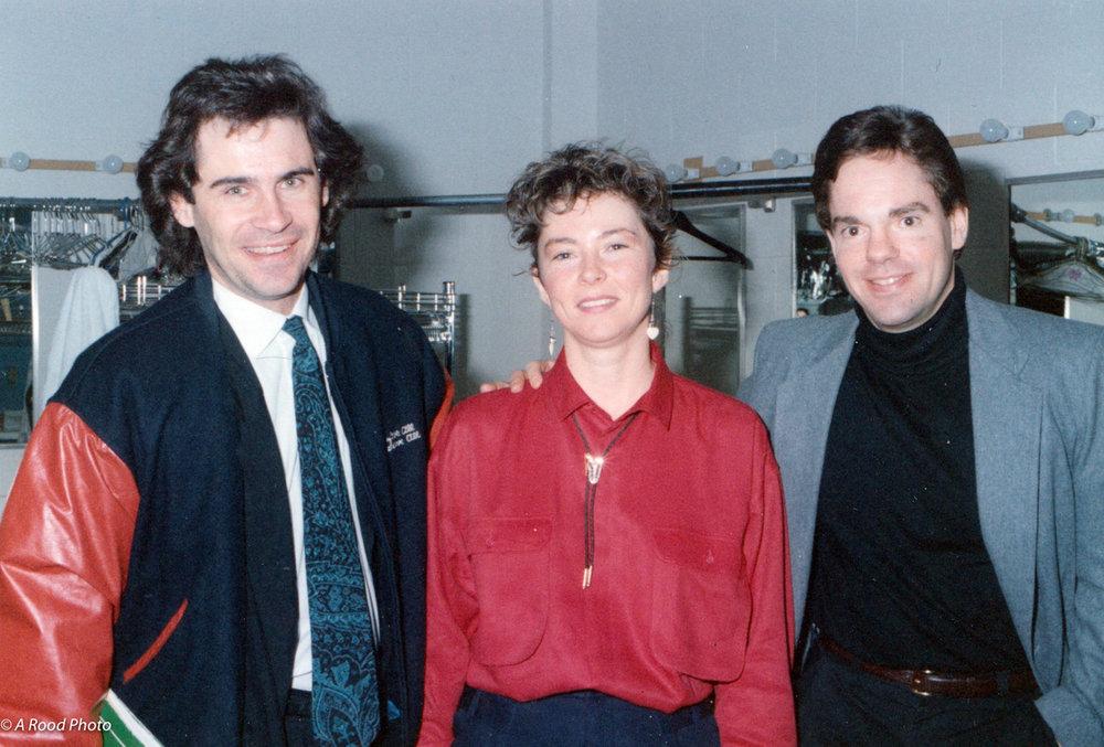Dennis Miller, Margaret Smith & Tom Gilmore