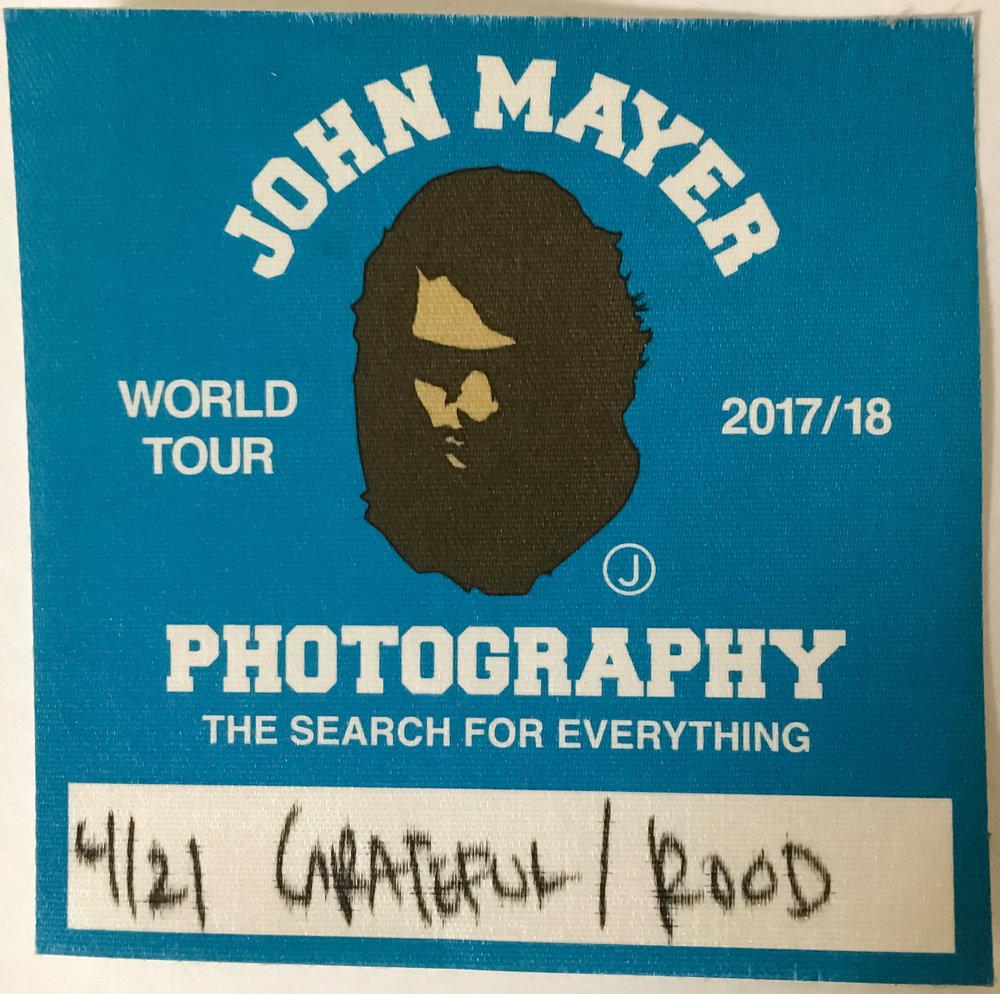 John Mayer 4-21-2017
