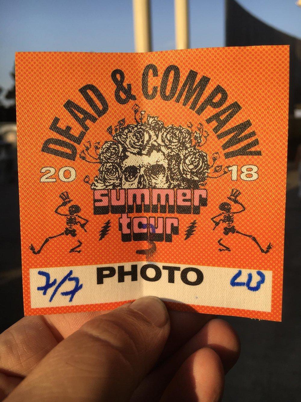Dead & Company 7-7-2018