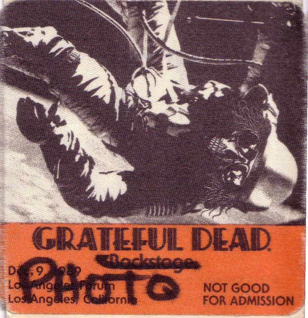 Grateful Dead 12-9-1989