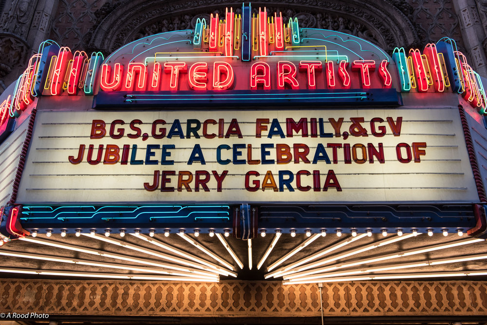 Jerry Garcia Celebration 3-30-2018