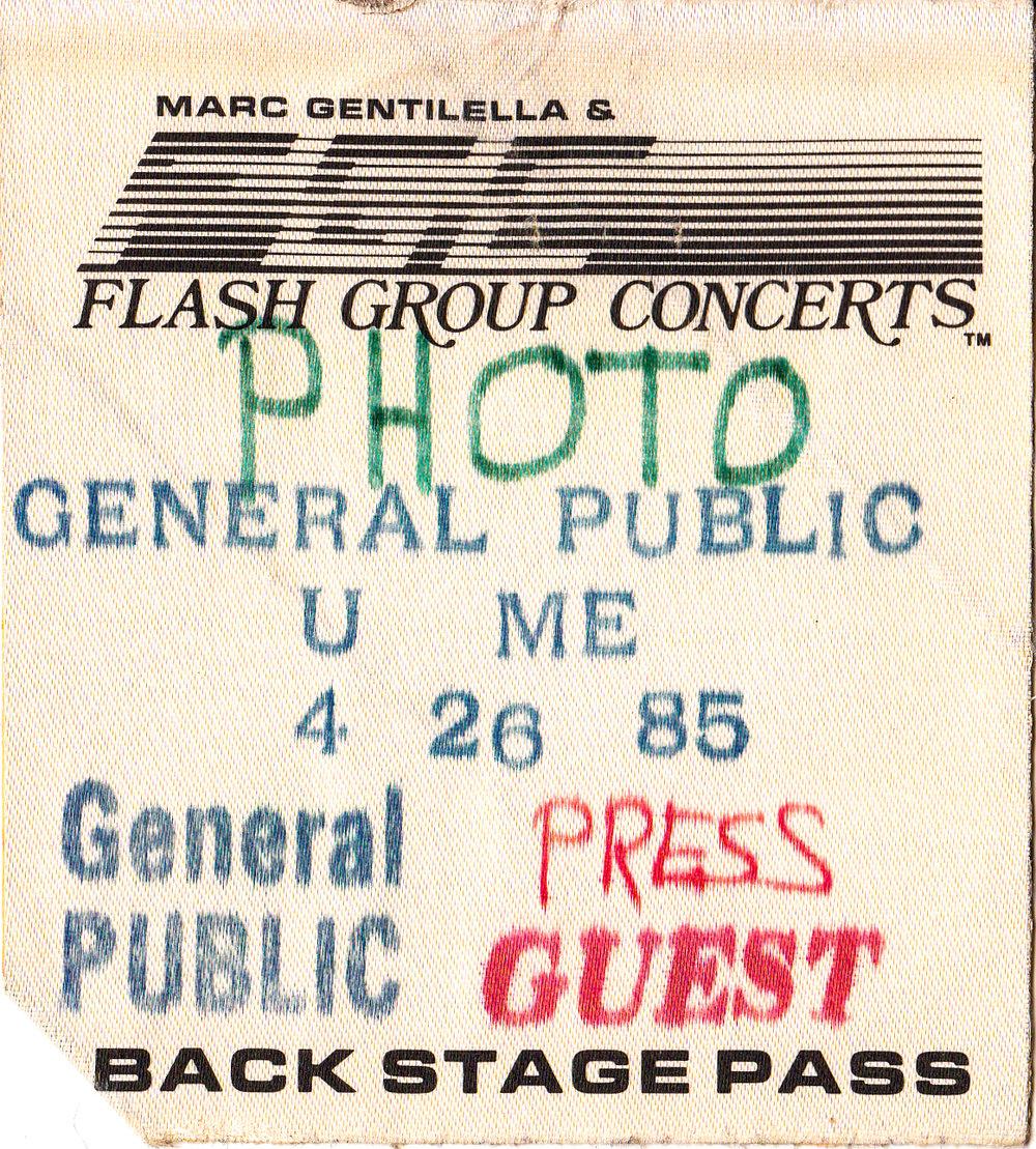 General Public 1985
