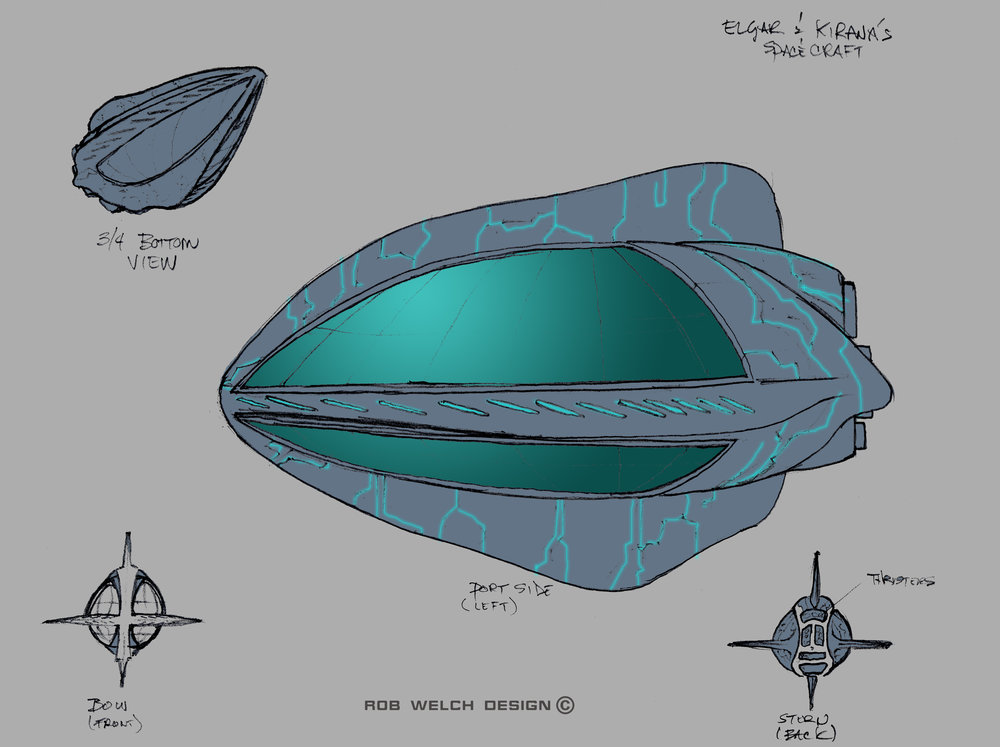 Alien Ship Concept (The Leviathan Chronicles)