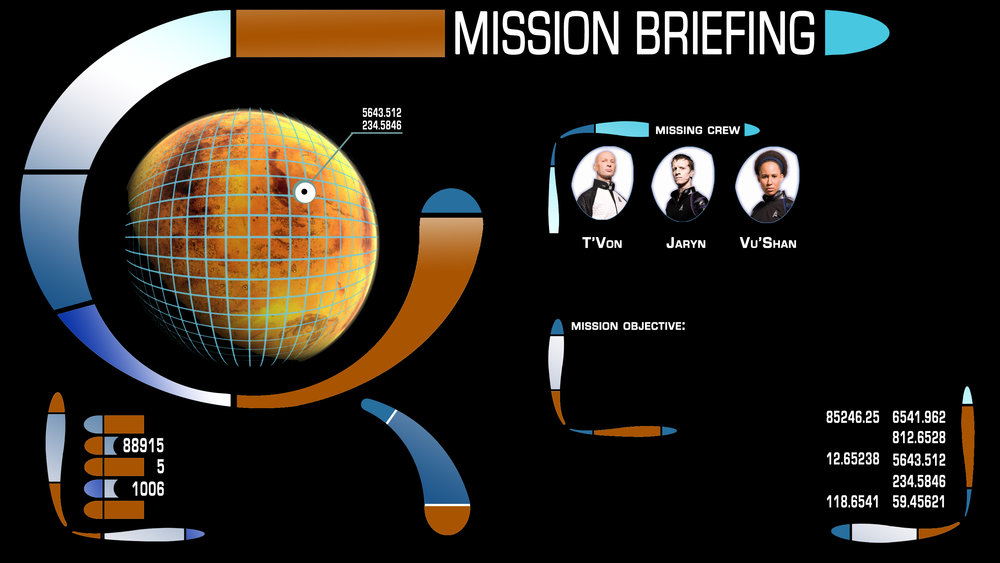 Mission Briefing LCARS