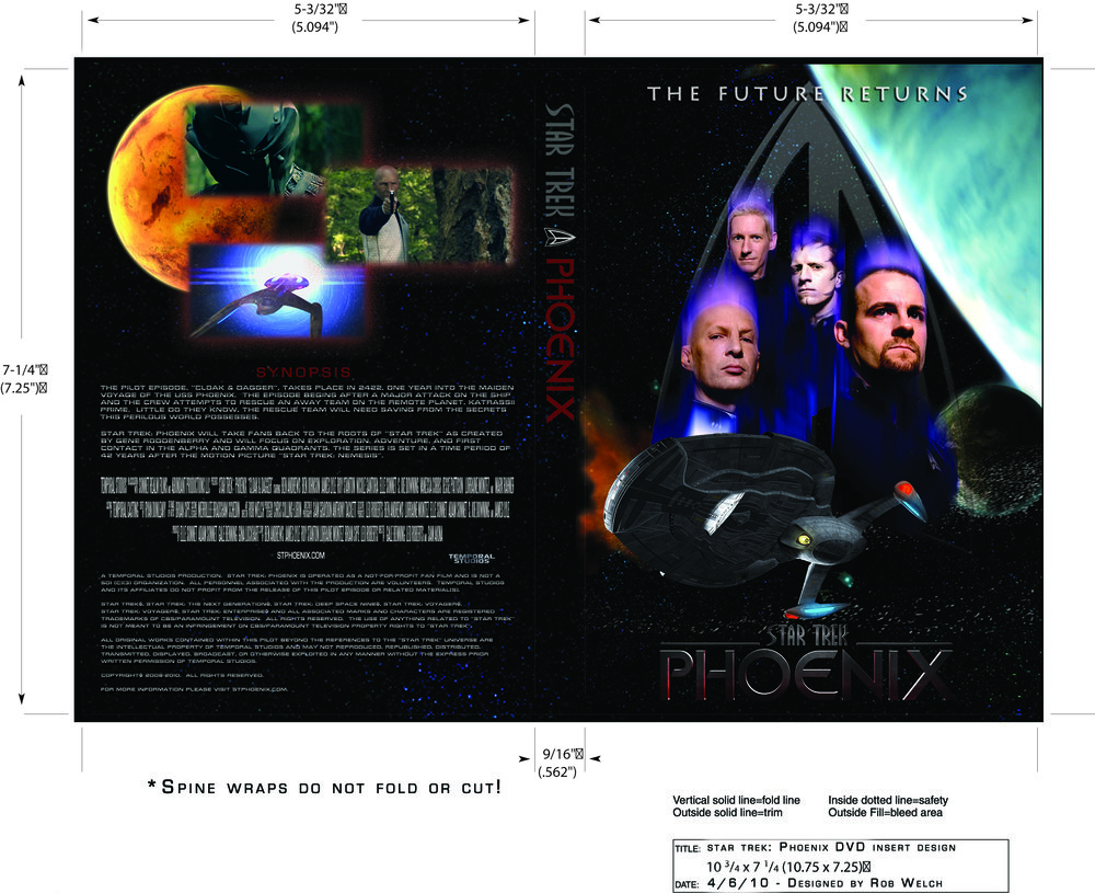 BluRay/DVD Insert Design