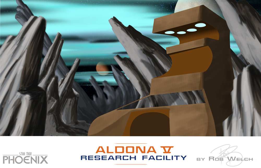 ALDONA V Research Facility -Scratched concept