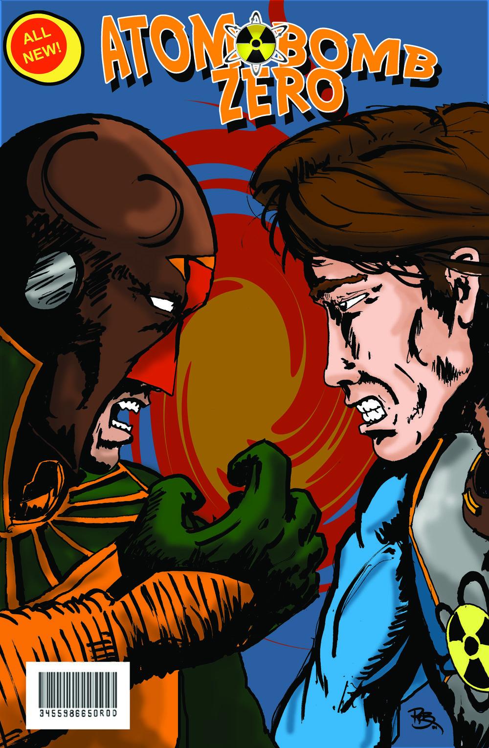 Atom Bomb Zero Comic Cover B