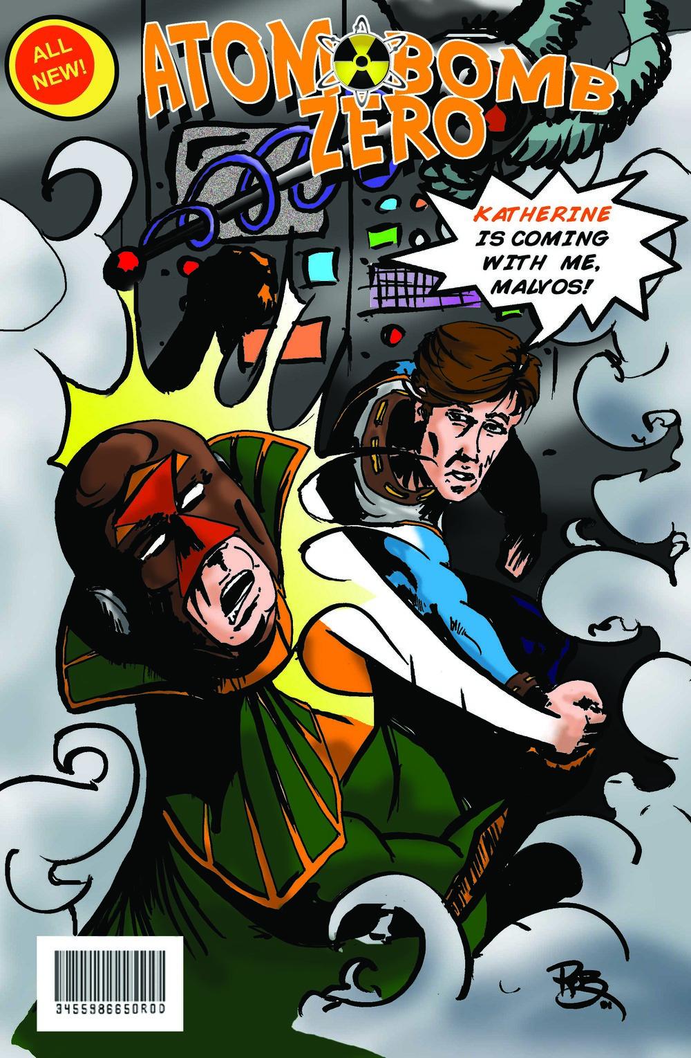 Atom Bomb Zero Comic Cover A