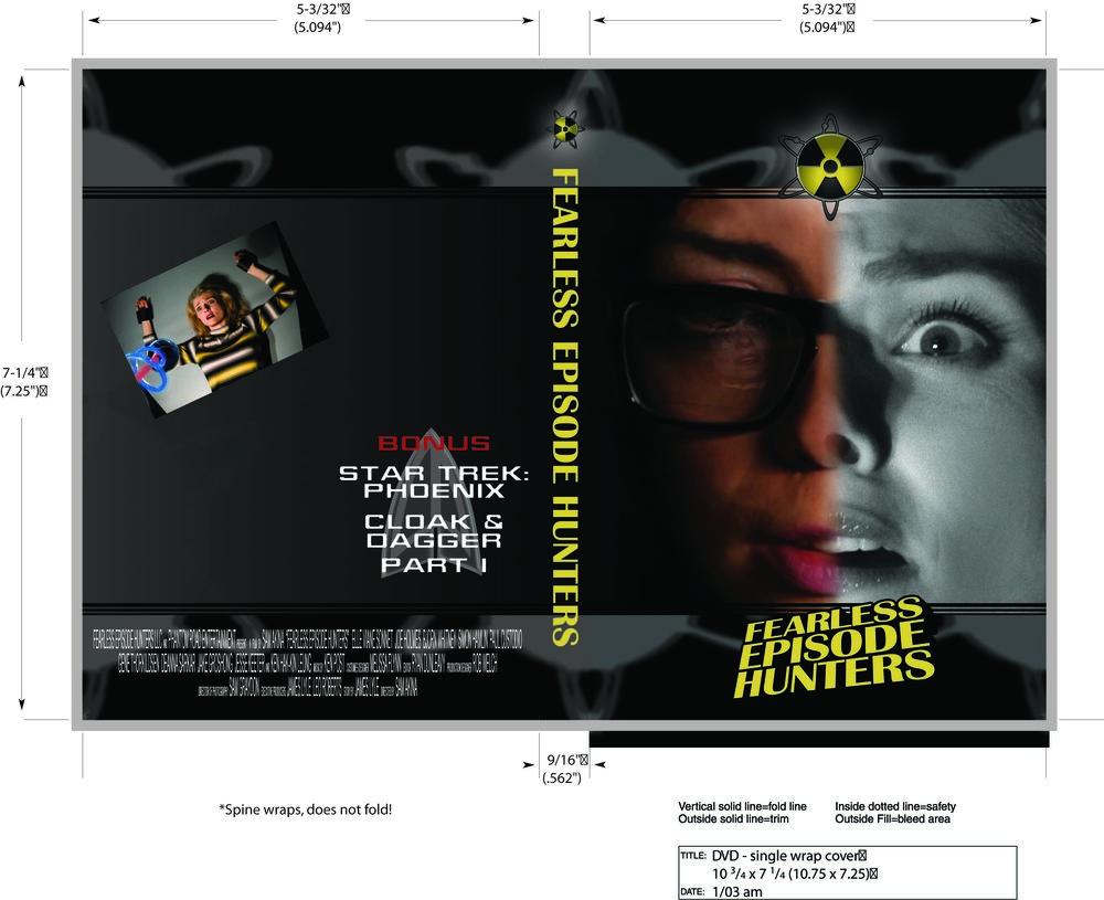 Blu-Ray/DVD Insert