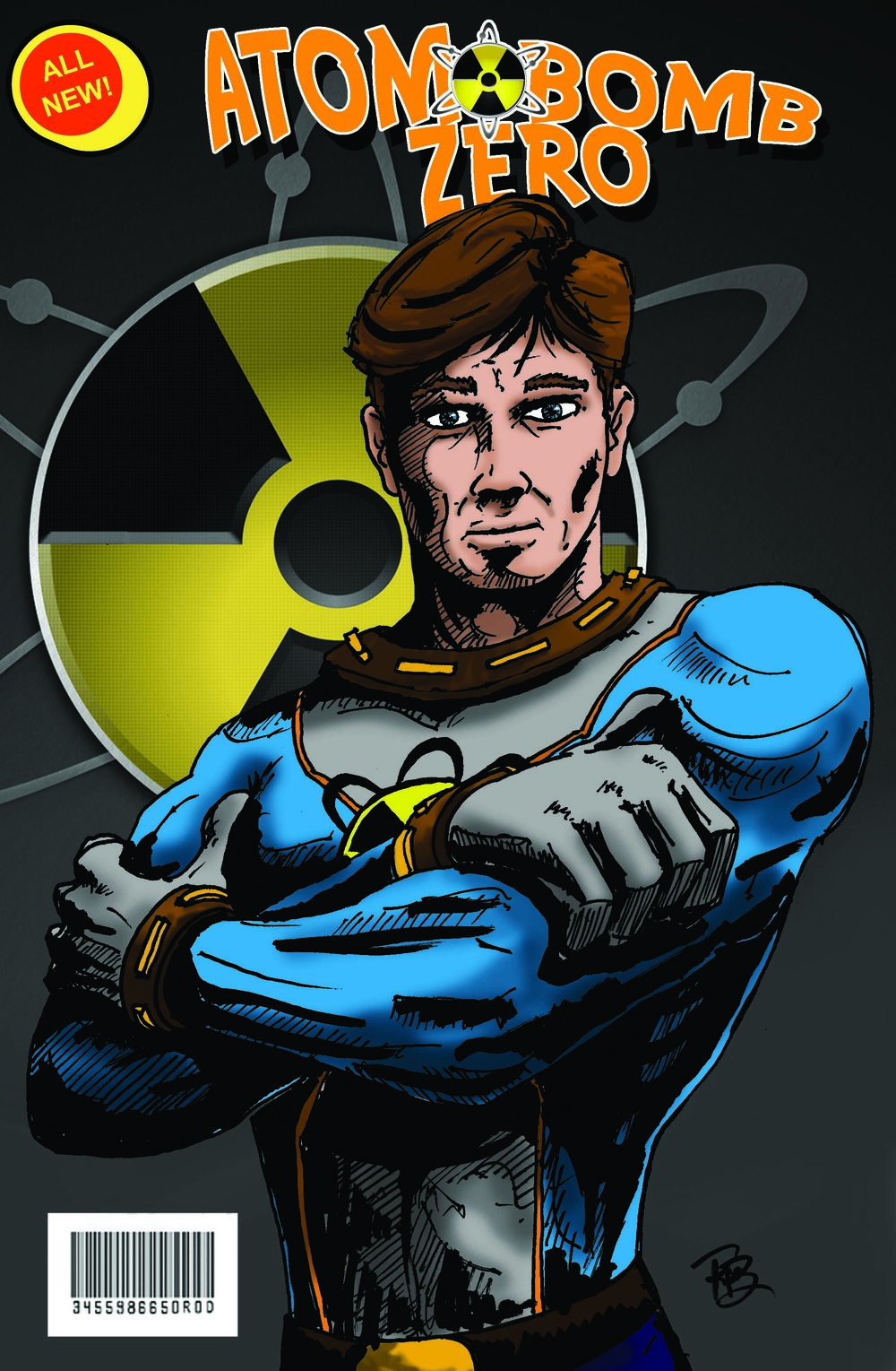 Atom Bomb Zero Comic Cover C
