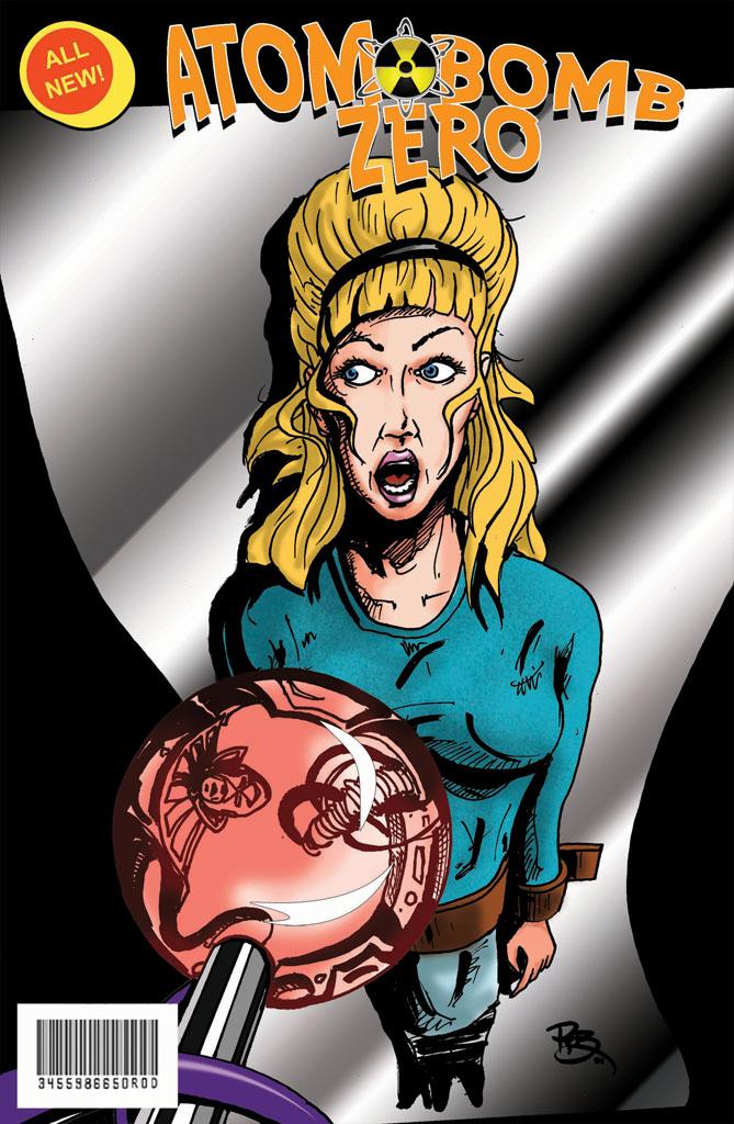 Atom Bomb Zero Comic Cover D