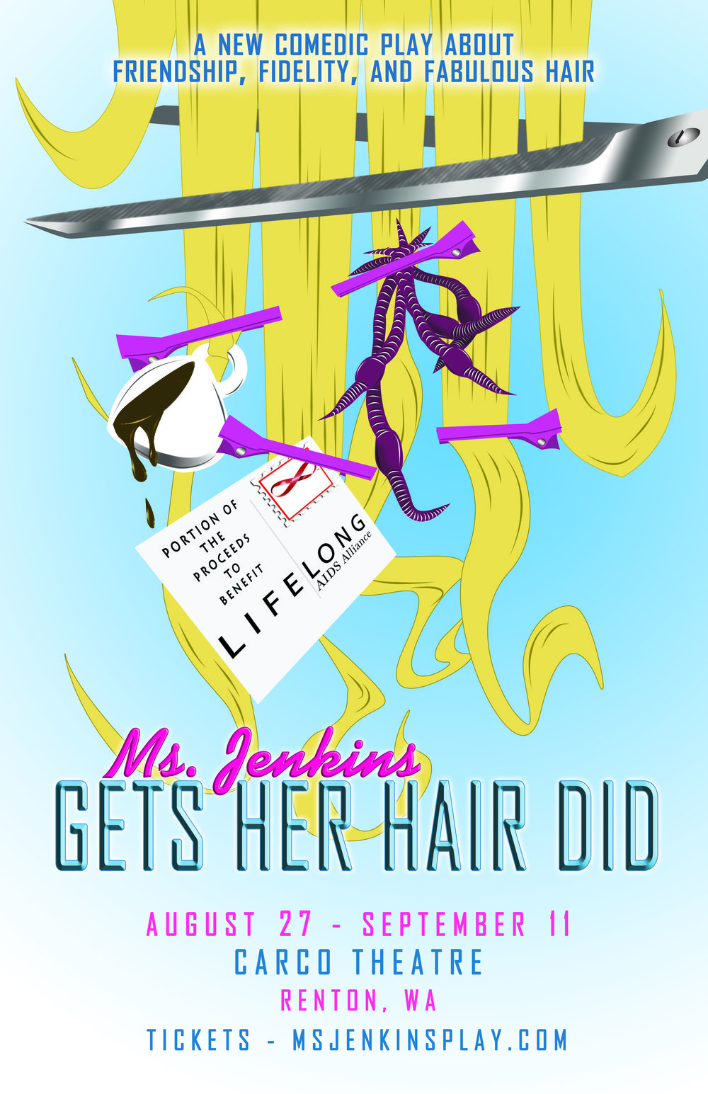 Ms. Jenkins Gets Her Hair Did -Poster A