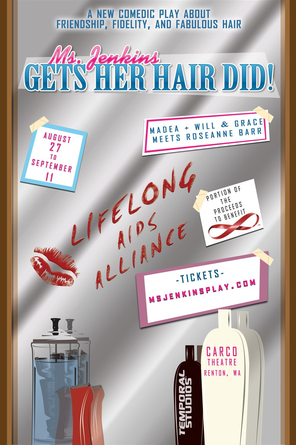 Ms. Jenkins Gets Her Hair Did -Poster B