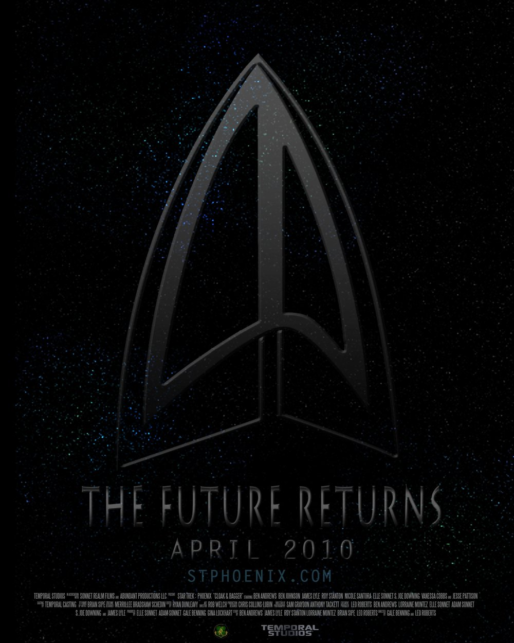 Star Trek : Phoenix Teaser Poster
