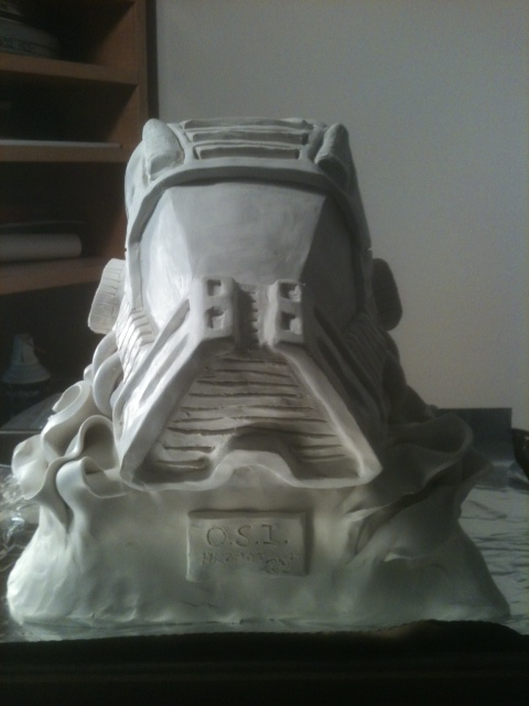 O.S.I Hazmat Sculpture