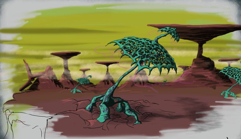 Plant Life Concept B
