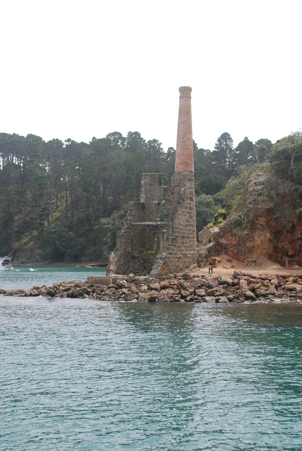 The Copper Mine on Kawau Island