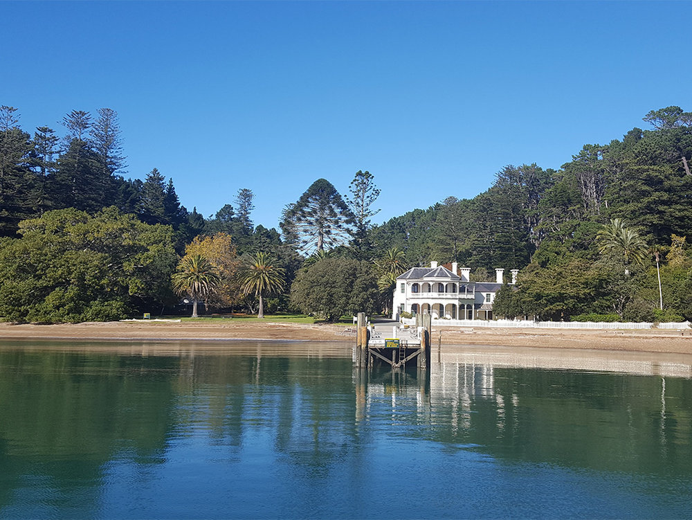 The Historic Mansion House on Kawau Island