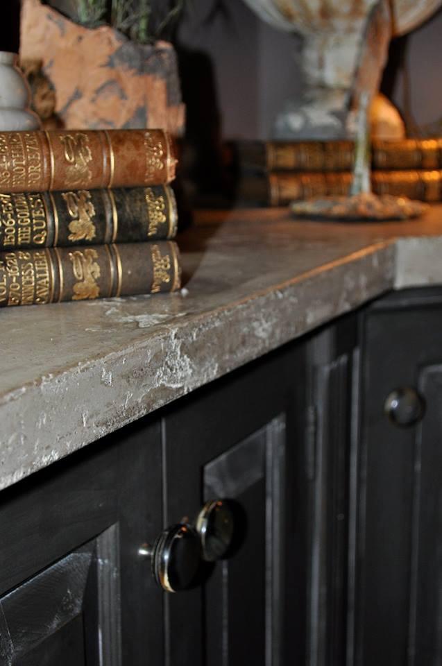 SkimStone Concrete Veneer on Countertops