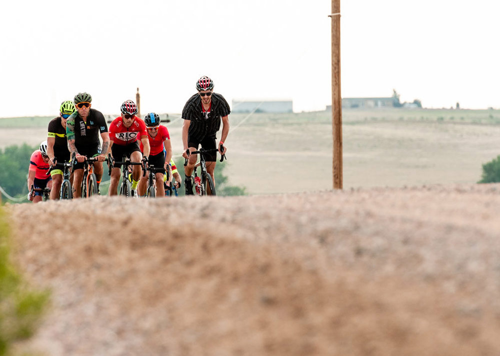 50-mile Gravel Grinder - One of our original routes! You'll discover more gravel-awesomeness than you ever knew was within reach of the city limits. This route also has one Strava race segment- fastest man and woman on the segment will receive a cash prize! This route leaves New Belgium Brewing at 8:30 am. Check out the 2019 route.