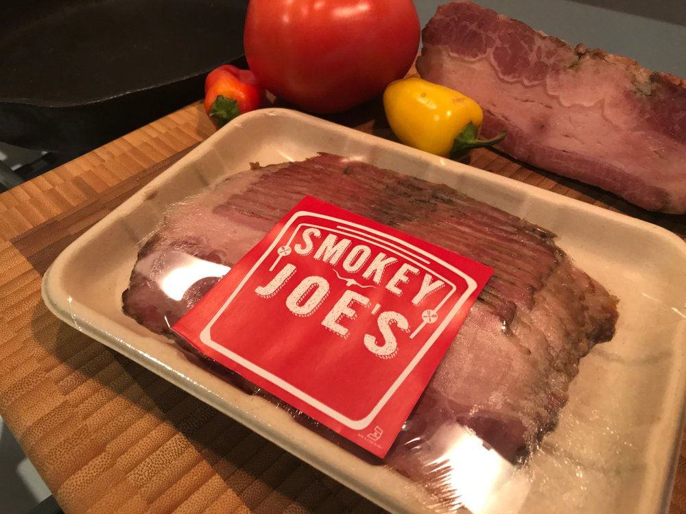 Recipes with Smokey Joe's Smoked & Cured Kosher Beef Bacon -
