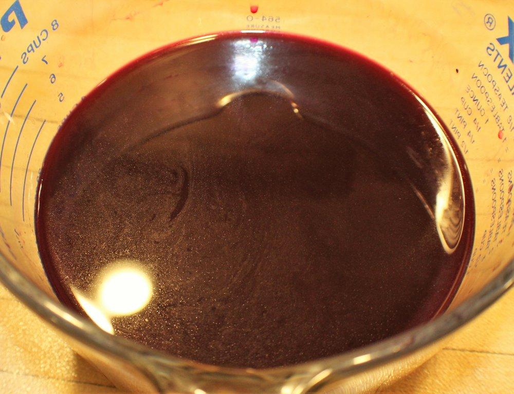 Elderberry Juice -