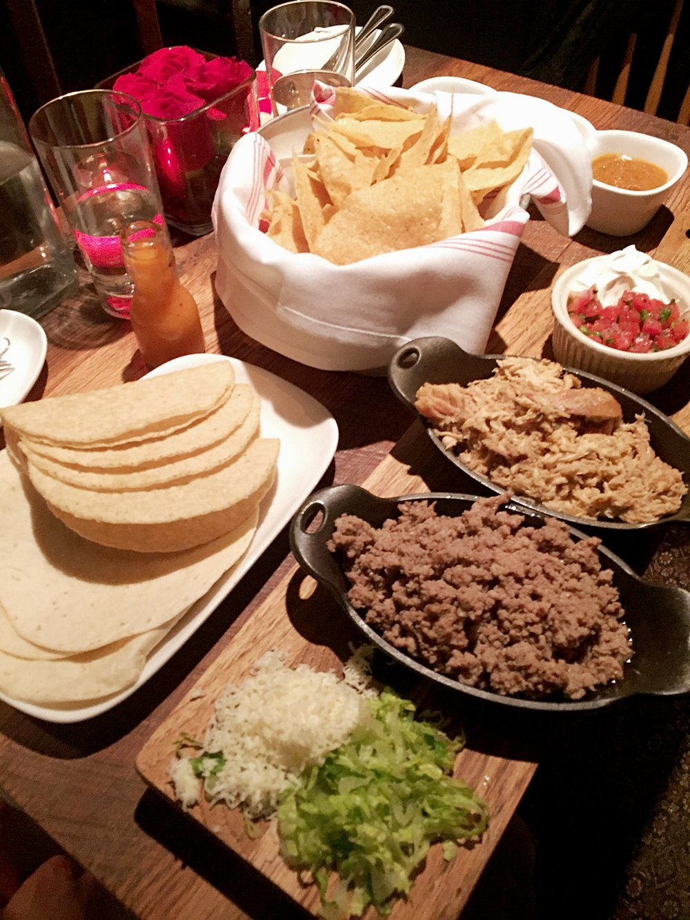 Taco Night Spread
