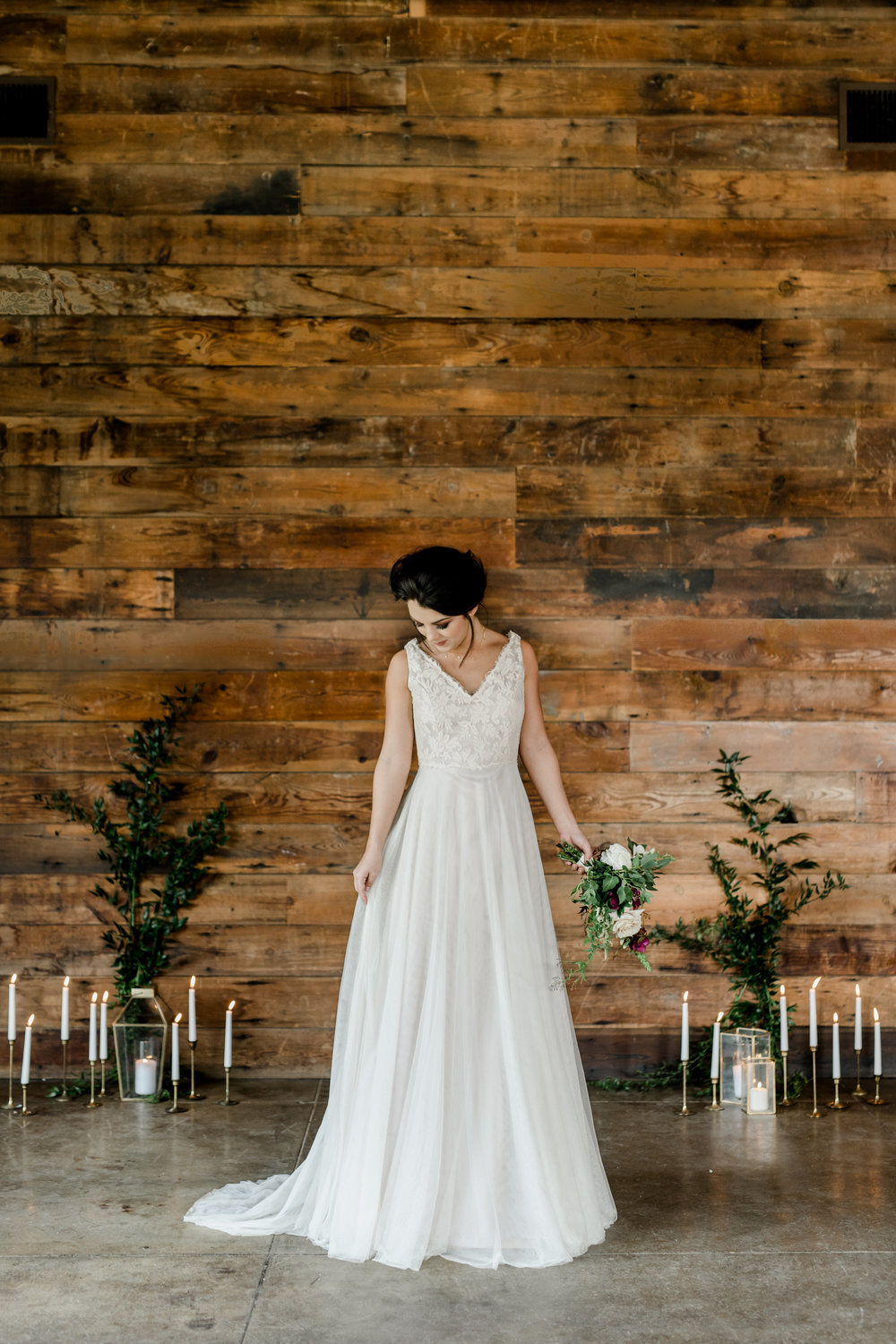 Samantha Gown Moonlight And Moss Hill Country Custom Wedding