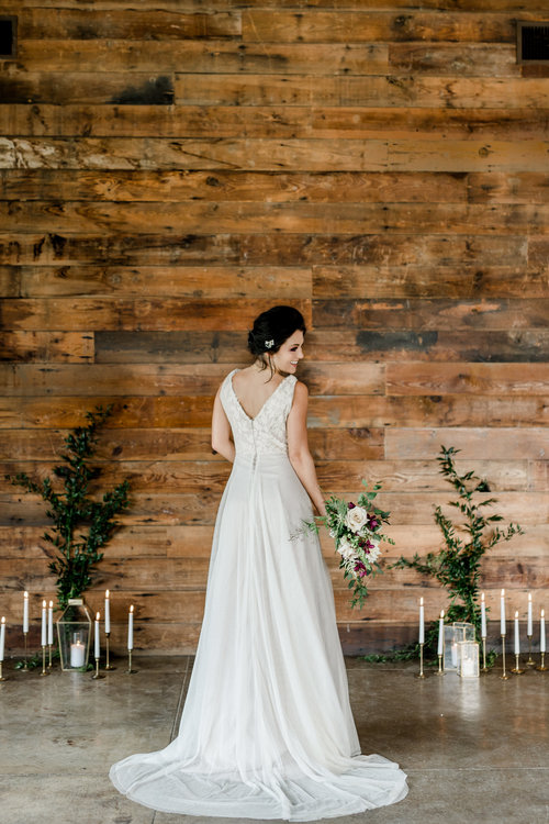 Samantha Gown — Moonlight and Moss | Hill Country Custom Wedding ...