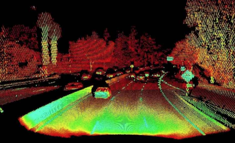 - Image: LiDAR — navigation technology that allows autonomous vehicles to detect and measure objects on the road and well-beyond.