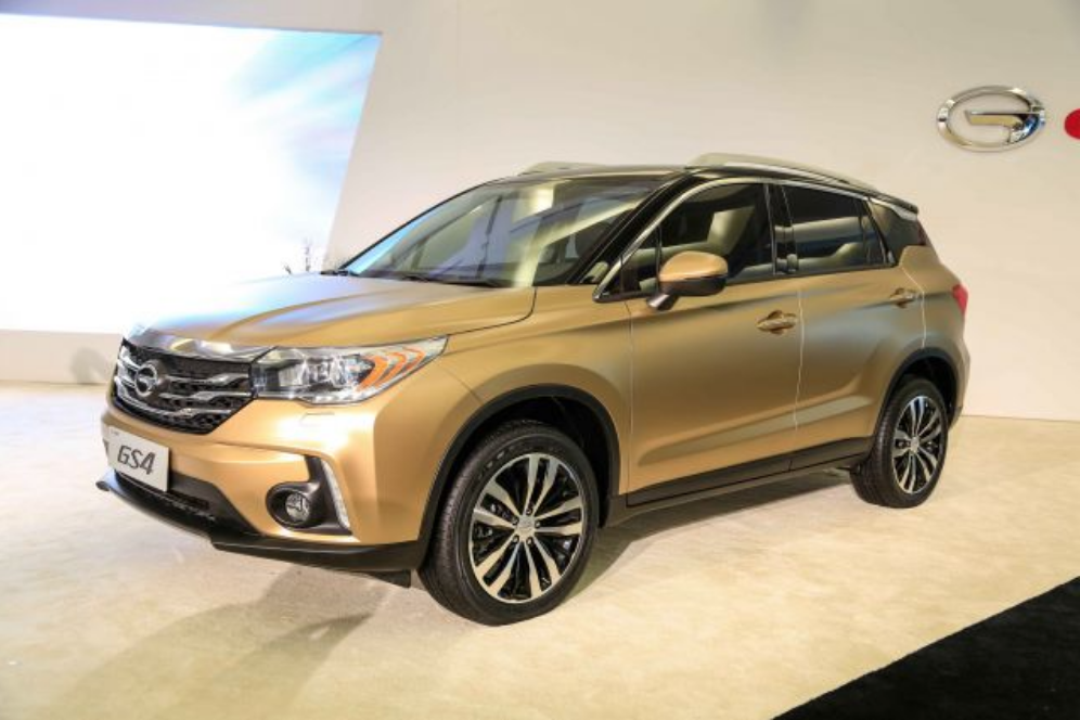 - Guangzhou Auto's best-selling model, the GS4 compact SUV. What to call it? In Toyota, Honda and FCA showrooms, the product will bear the GAC brand name on the front end and foreign joint venture names on the backside.