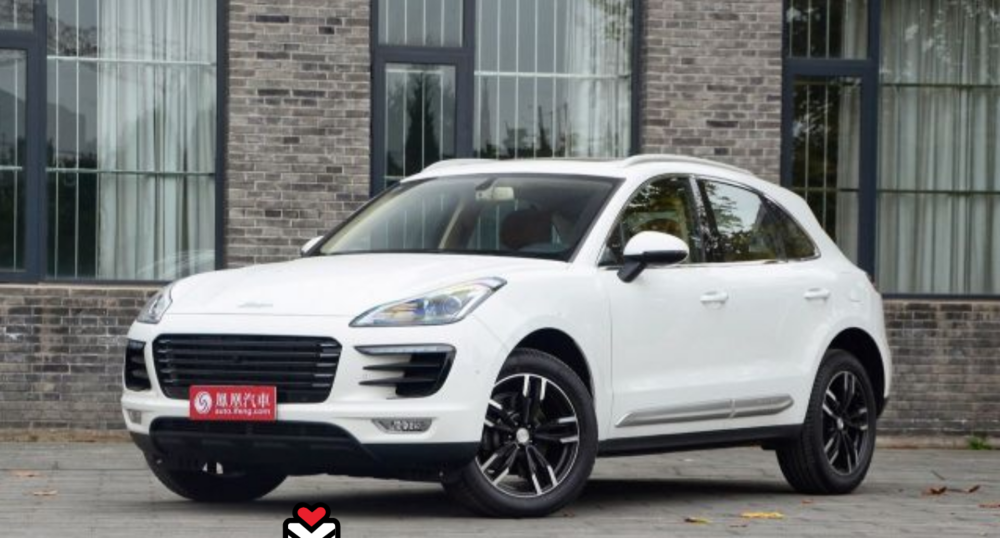 - The Zotye SR9 looks more than a little like the Porsche Macan. Pricing of the SR9 starts at $15,000 vs $85,000 for the Porsche Macan.