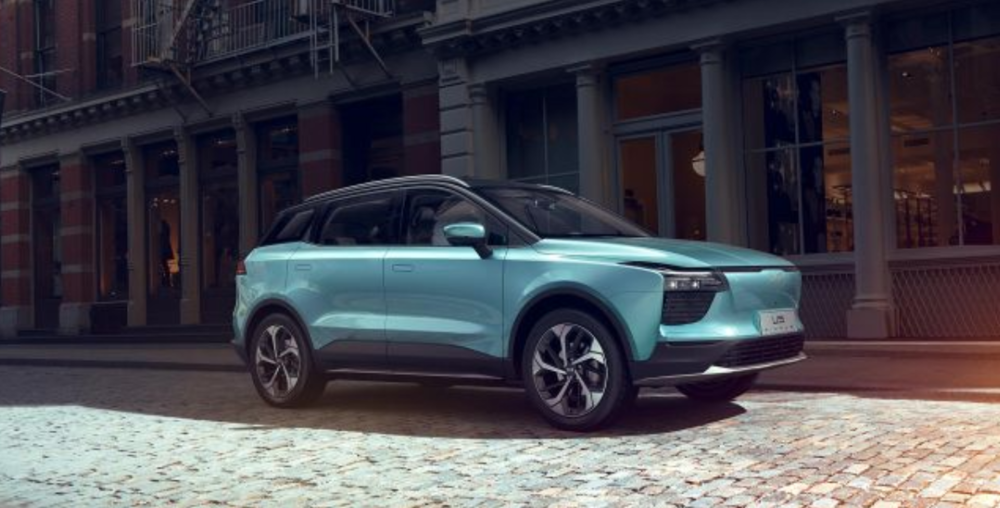(Photo: The Aiways U5, a 5-seat electric SUV, which will be presented at the Geneva Auto Show next month)