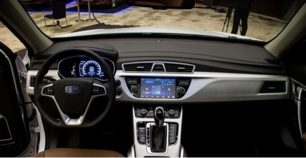 Photo: Geely's next generation cars will feature connectivity powered by Snapdragon from Qualcomm.